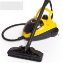 High Pressure 1500W 1.2L Multifunction Steam Cleaner - Yellow