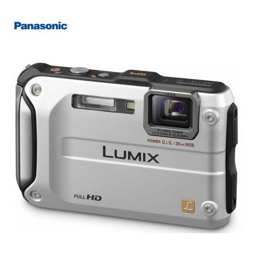 Panasonic - LUMIX FT3 12.1MP Digital Camera Water WATER / Shock