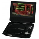 "New 7 inch 7"" Portable Widescreen DVD Player"