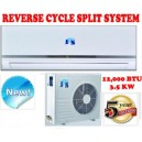 New 12000 BTU 3.5KW Split System Reverse Cycle Air Conditioner +Timer & Remote