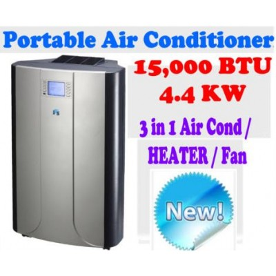 New JHS8 Reverse Cycle 15,000 BTU 4.4 KW Portable Air Conditioner Heating Fan