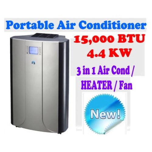 new jhs8 reverse cycle 15 000 btu 4 4 kw portable air conditioner heating fan