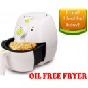 New 2.2L Air Fryer Lot Fat Oil Less Healthy Fast Easy Cooker - WHITE