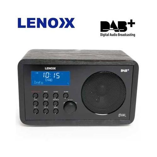 dab digital radio w dual alarm clock radio. Black Bedroom Furniture Sets. Home Design Ideas