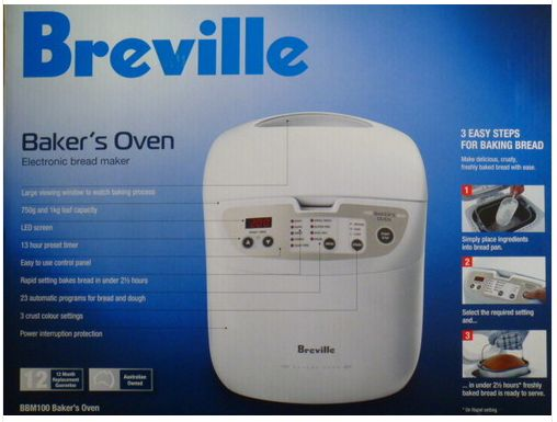Breville bread maker bbm100 reviewed by expert appliances online.